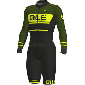 Alé Cycling PRS Fango Skinsuit Men black-green-fluo yellow